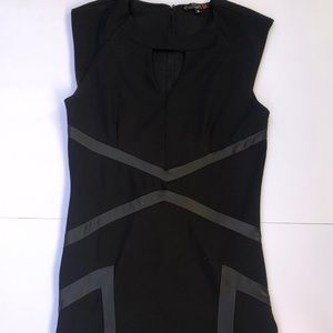 G by guess black sleeveless dress size small lbd